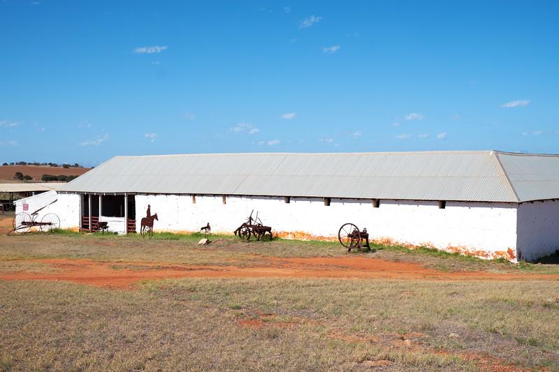 Shearing barn.