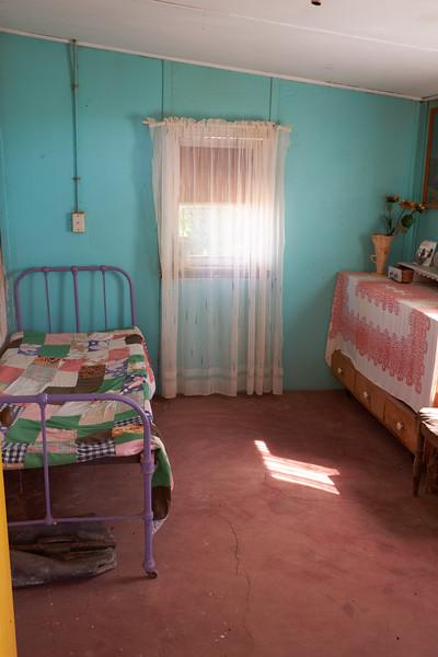 Gardener's bedroom off kitchen porch.