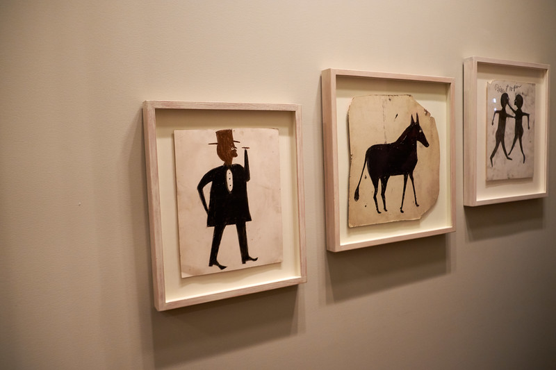 Bill Traylor, African-American self taught artist from Alabama.