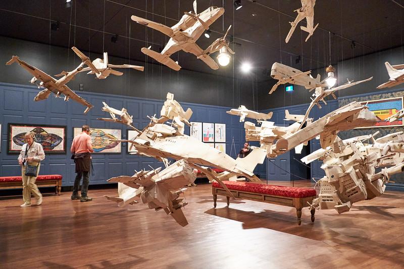 Cardboard Airplanes.