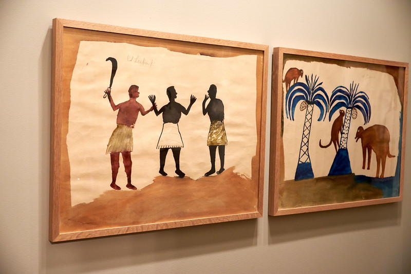 Traylor's collection tell the African American story through his own experiences and observations.
