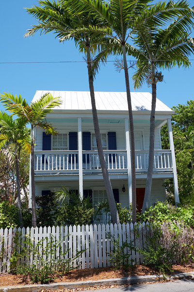 Typical local house in Key West.
