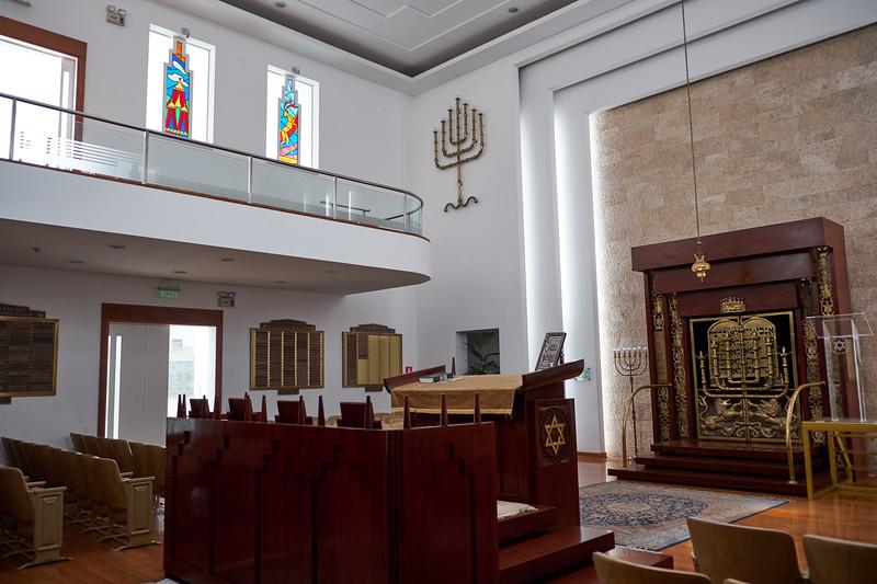 Socidad Isrealita Sefaradi is Orthodox Sefardic located in San Isidro.
