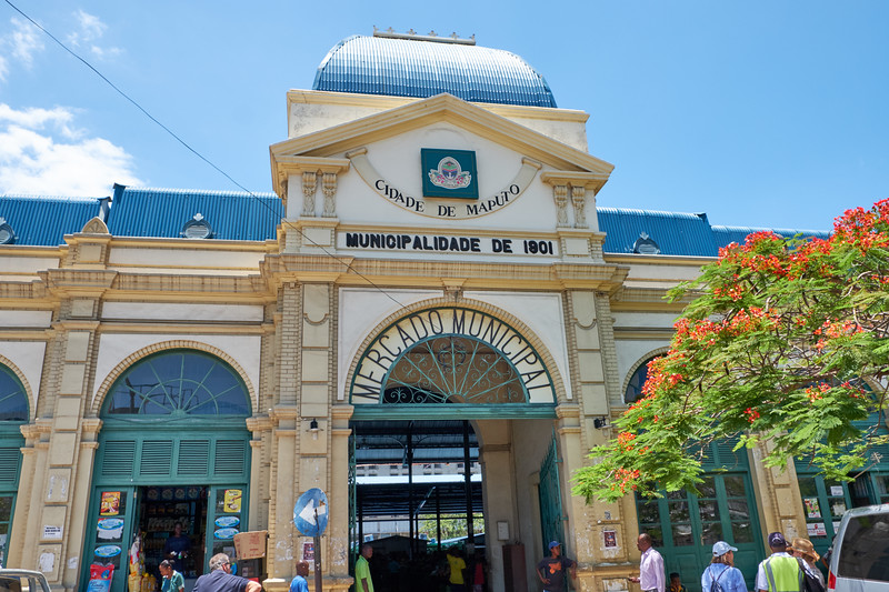 The Central Market is one of the oldest building in Maputo.