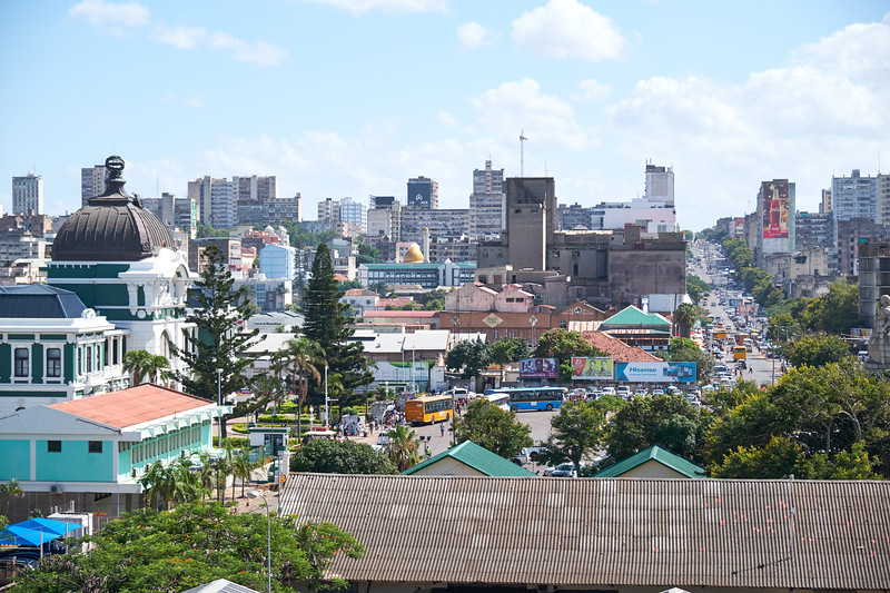 View of Maputo from my veranda.
