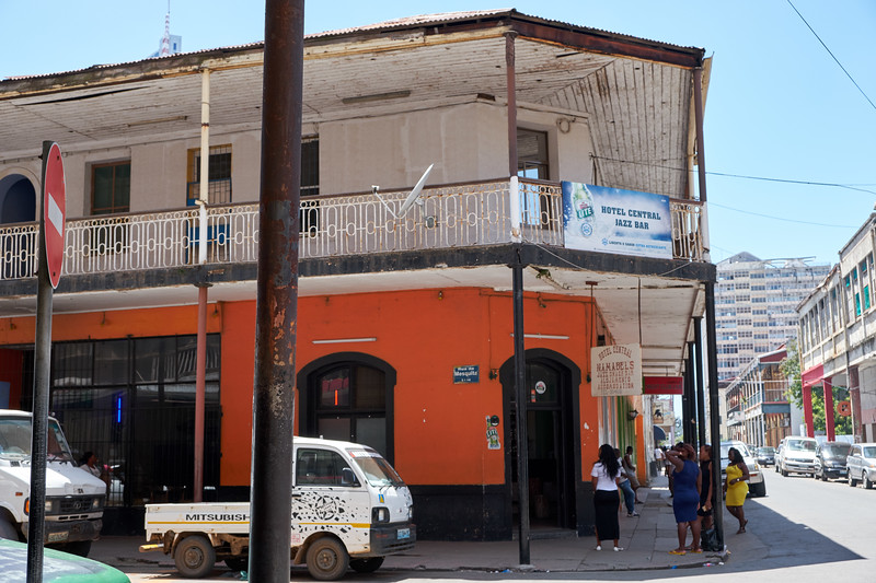 First hotel of Maputo.