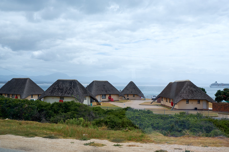 Beach Cabins (from bus).