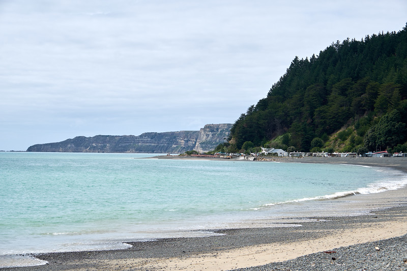 The headland, Cape Kidnappers, is named after an attempt by local Maori to abduct the Tahitian cabin boy, Tiata, during a landfall here October 15, 1769.