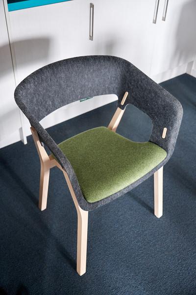 Trubridge is also into furniture design.