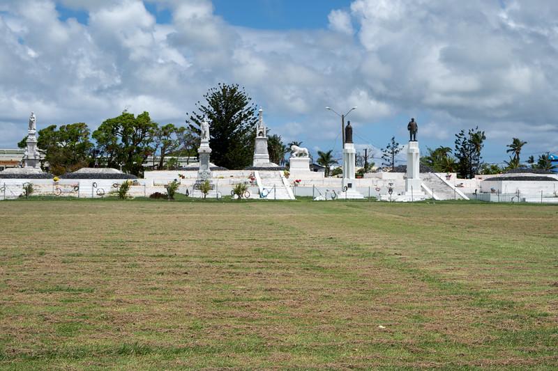 Mala'ekula Royal Tombs at Prince Park.
