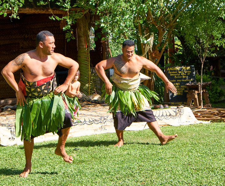 Men did a traditional dance supposed to attract single women.