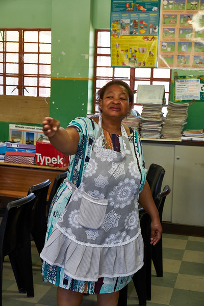 She has been principle here since 1998 and through her efforts to raise additional funds the school has been greatly imporoved.