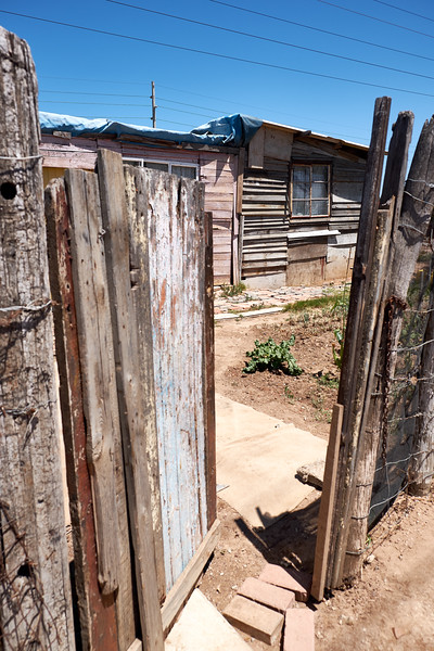 Gate to the shack.
