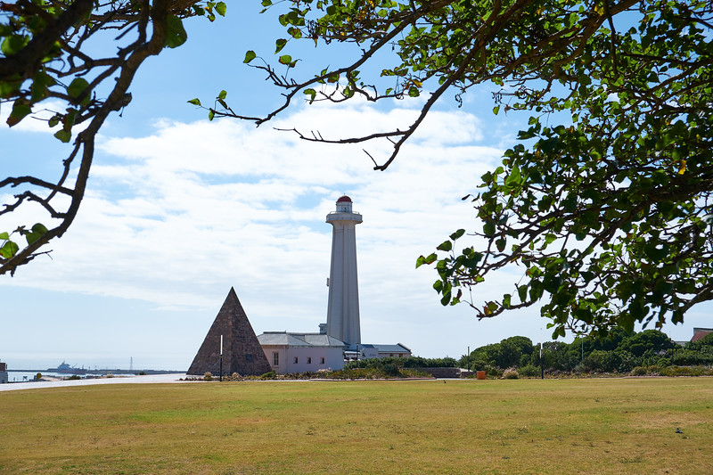Donkin Reserve is an open space established by Sir Rufane Donkin. The Pyramid was erected in memory of Elizabeth Donkin.