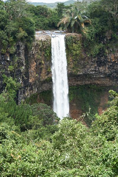 Chamarel Falls.
