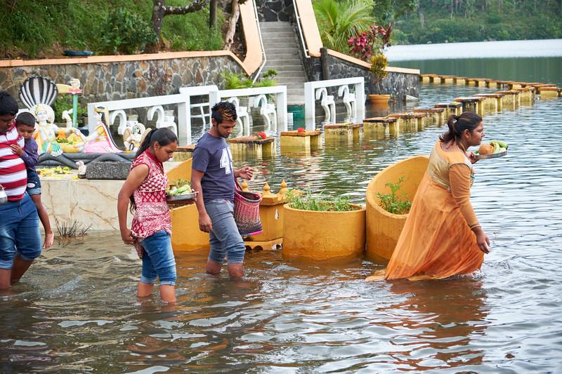 Sagar Shiv Mandir is a Hindu temple visited often by Mauritius Hindus.