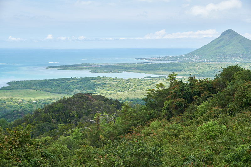 Bale Du Cap Maconde View Point in Chamarel.