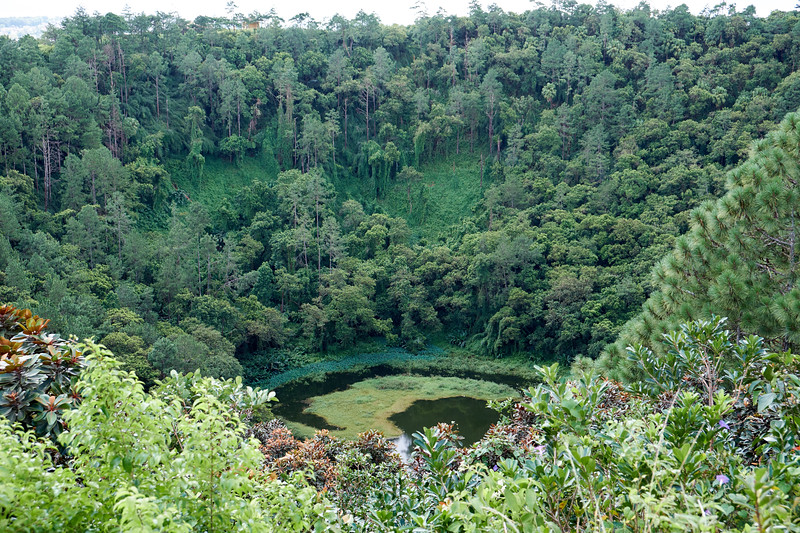 Trou aux Cerfs, Mauritius famous crater.