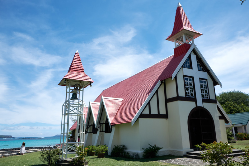 "Known as ""The Red Church"" it was built in memory of the shipwrecks which happened there."