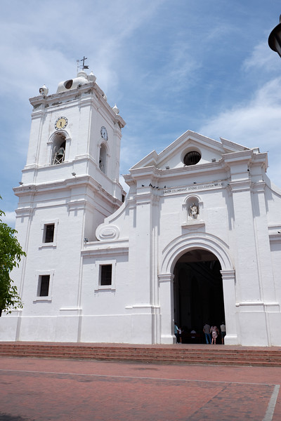 The Catedral de Santa Marta claims to be one of Columbia's oldest churches.