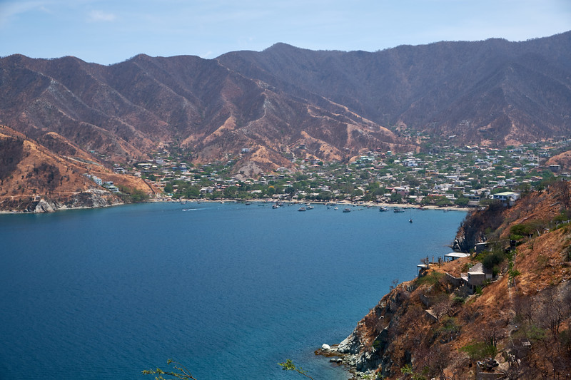 The fishing village of Taganga.