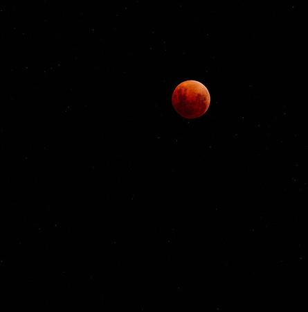 The Blue Moon Off Coast of Australia 1-31-2018