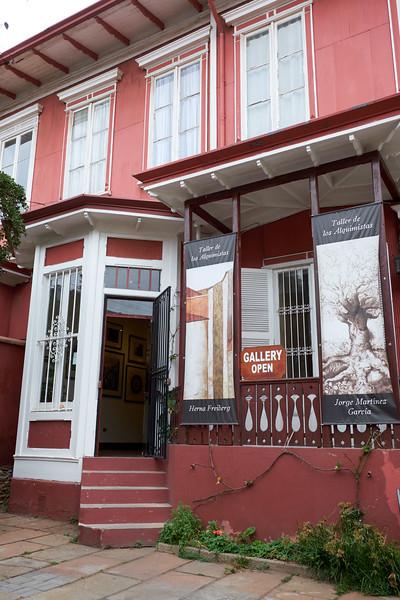 The gallery of Herna Friberg and her husband Jorge Martinez Garcia.