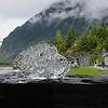 Mendenhall Glacial Ice on Alaska Dance Cruise - 31 May 2003