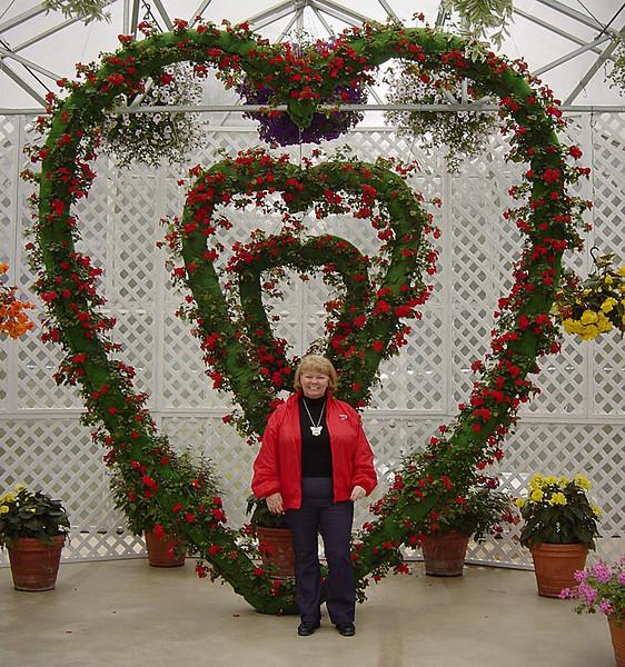 Nancy in Juneau on Alaska Dance Cruise - 31 May 2003