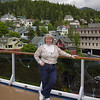 Nancy aboard Carnival Spirit on Alaska Dance Cruise - 2 June 2003