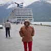 Nancy on Alaska Dance Cruise - 1 June 2003