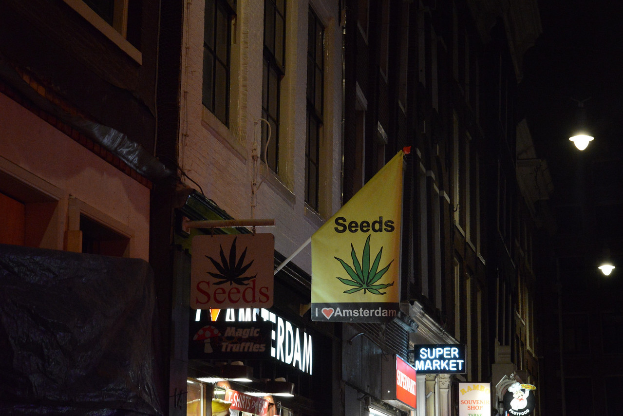 Markets in Red Light District.