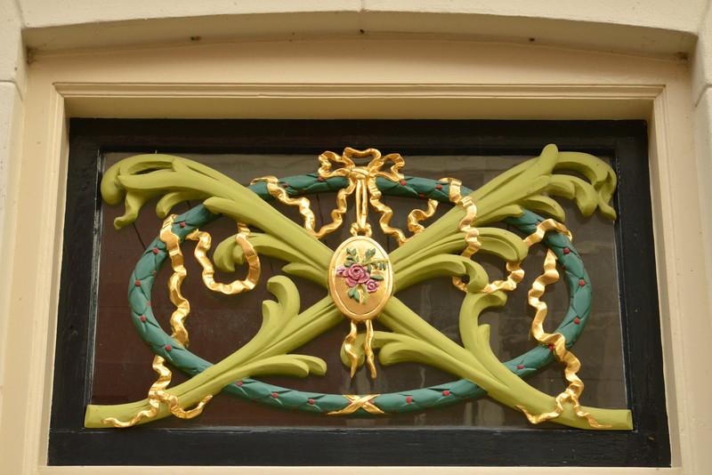 Typical Decoration Over Front Door.