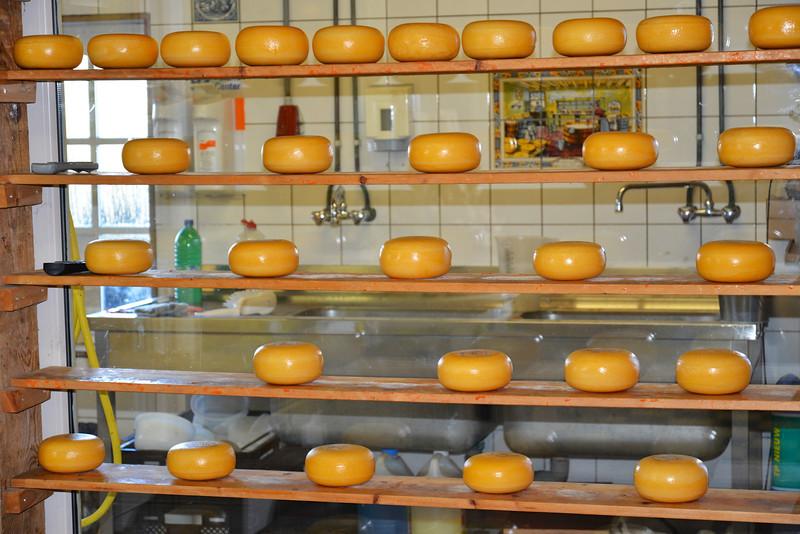 Cheese Making.