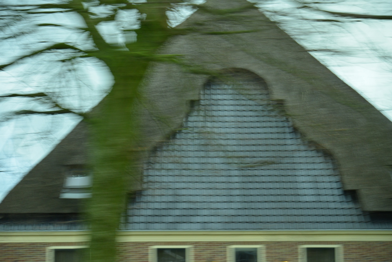 Additional Thatching Is A Sign of Affluence.