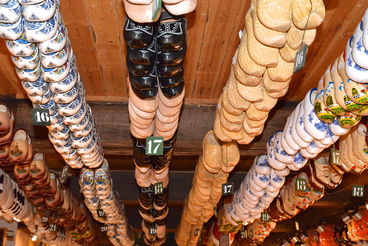 Hundreds of Shoes in All Sizes and Decor.