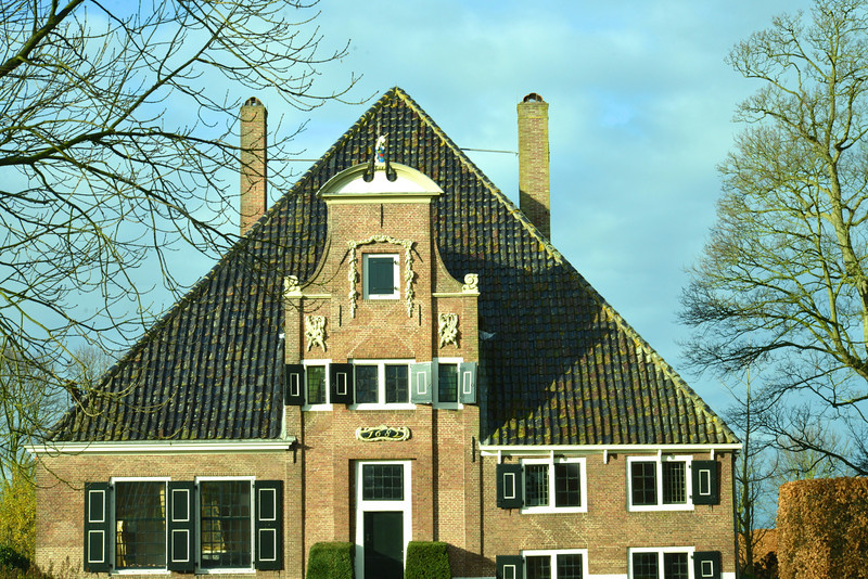 Typical Pyramid Roof…1682 House.