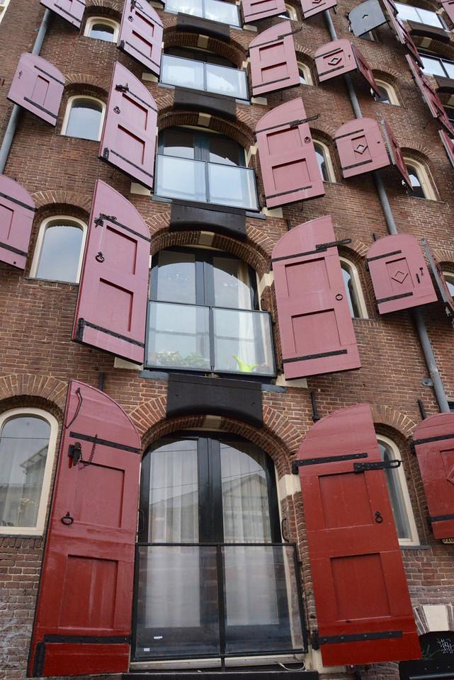 Originally A Warehouse, Now Apartments.