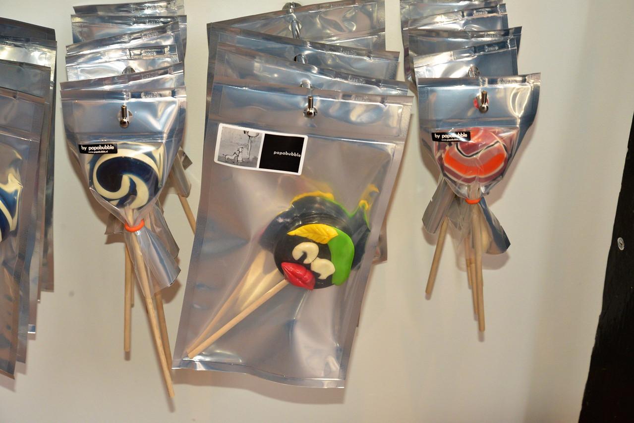 Lollipop Created In The Image of Sinterklaas' Helpers.