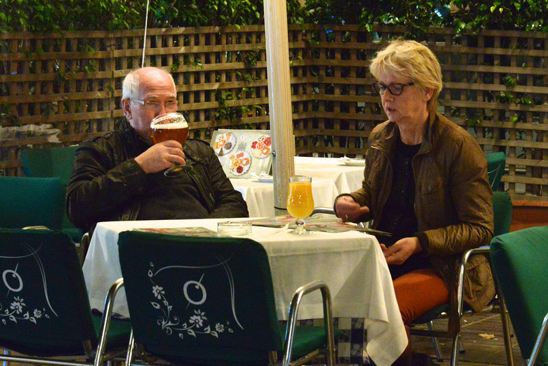 Sipping beer and watching people is one of the most popular ways to spend time on Las Ramblas.