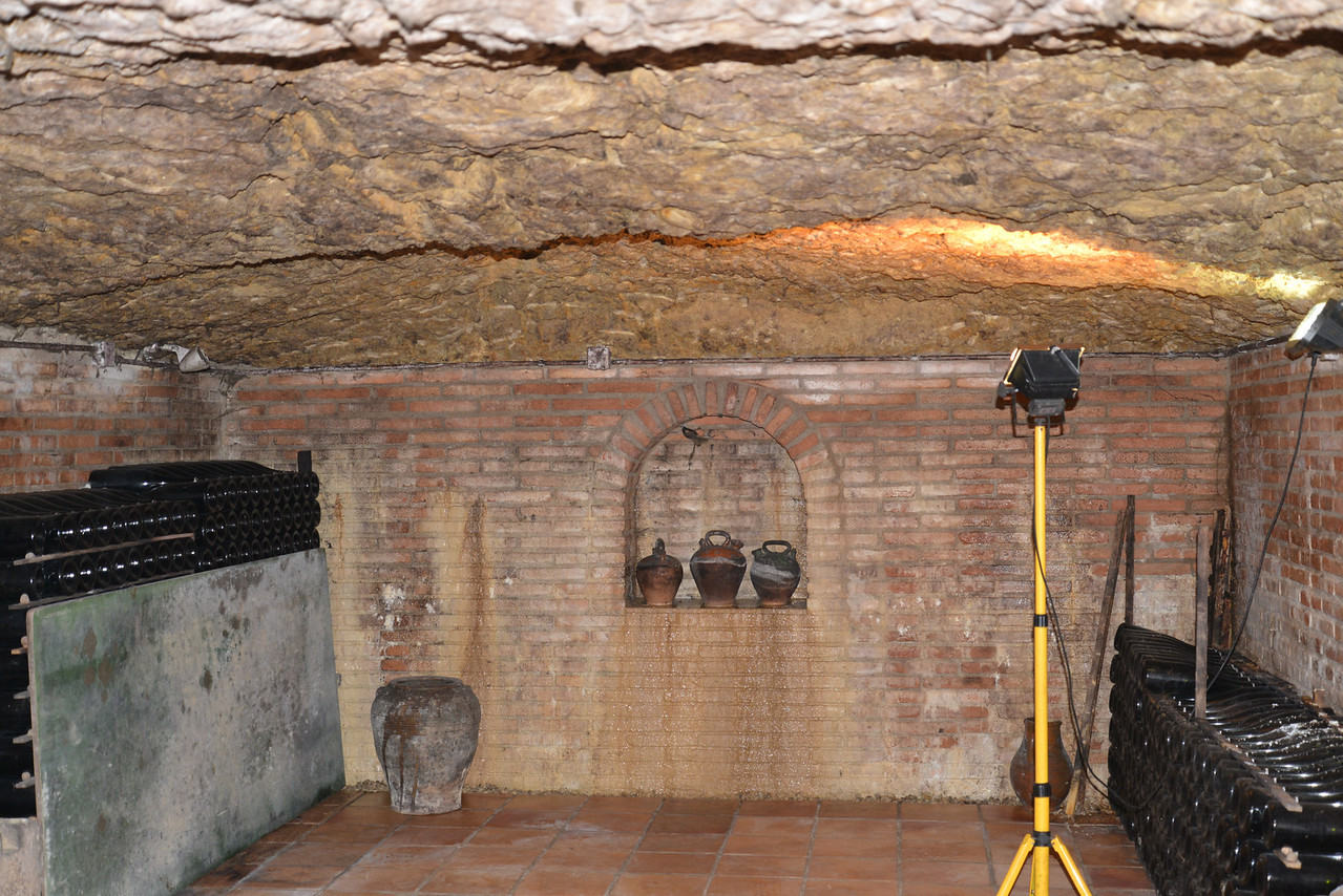 The cellar expansion.