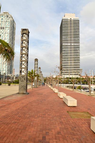 Walkway in Olympic Harbor Area.