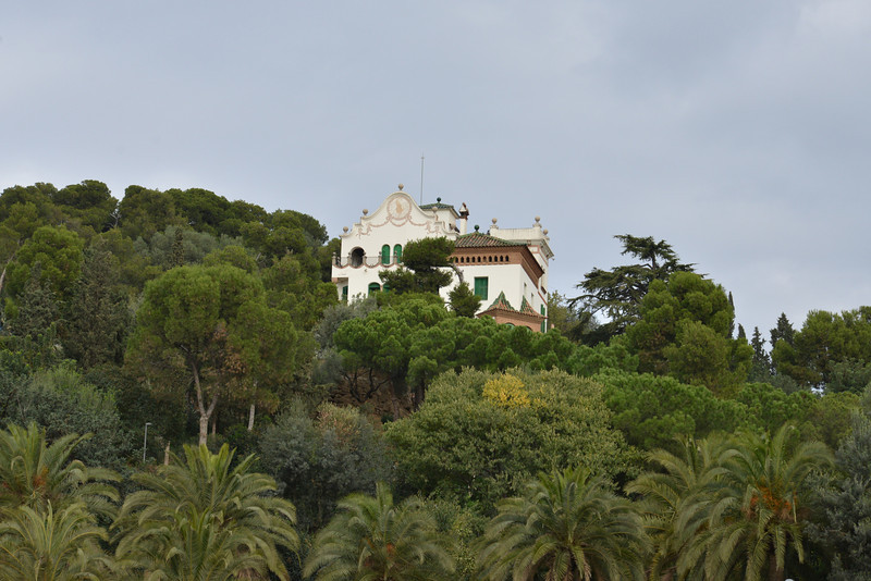 Second House Built in Park Guell… It Is A Private Home Today… It Is One Of The Most Expensive Houses In The World (40 Million Euro) Because The Location.