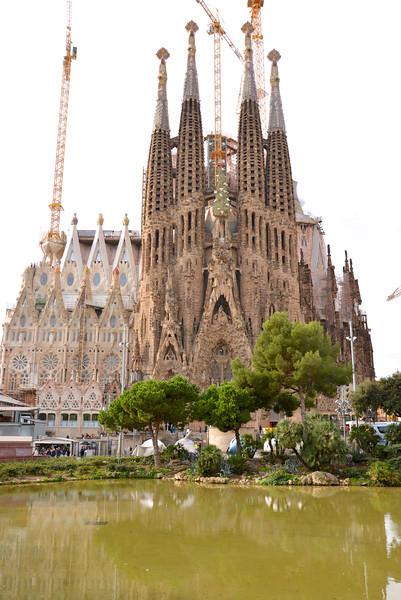 La Segrada Familia.
