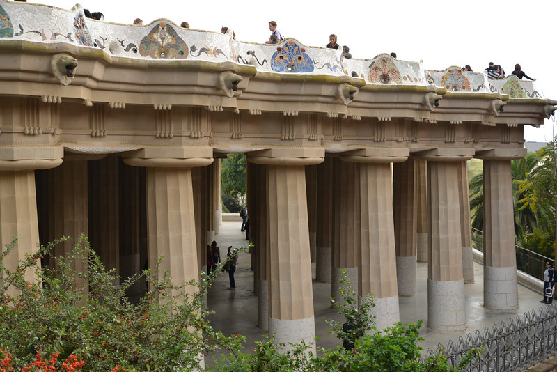 Systolic Hall… 84 Pillars… Bench Drains into Pillars.