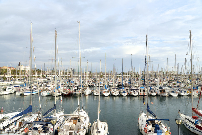 Private Yachts at Olympic Harbor.