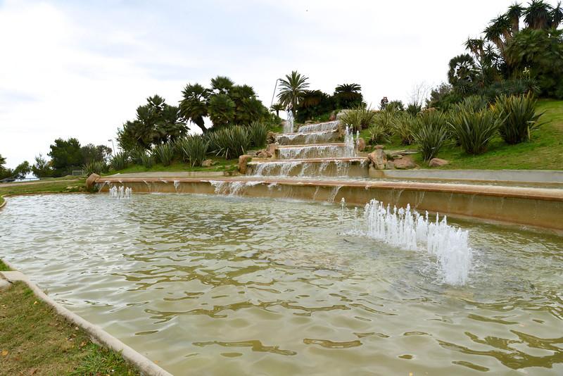 Fountain on Montjuic.