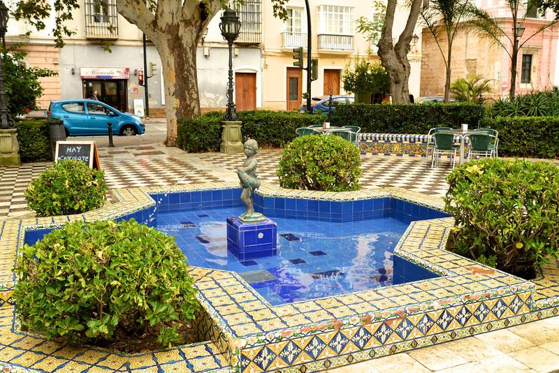 Seville Style Fountain.