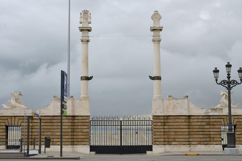 Original Port Gates to Cadiz.