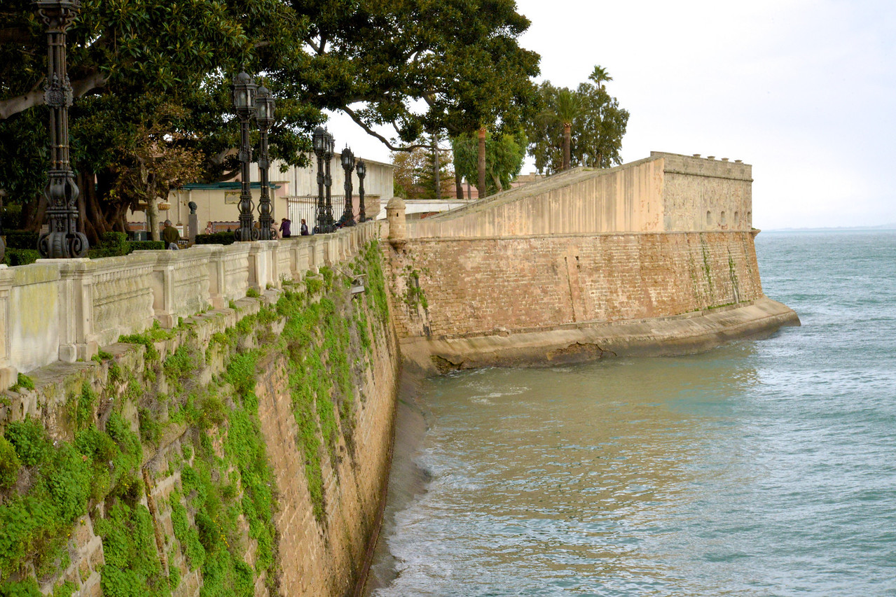 Bastion Wall.